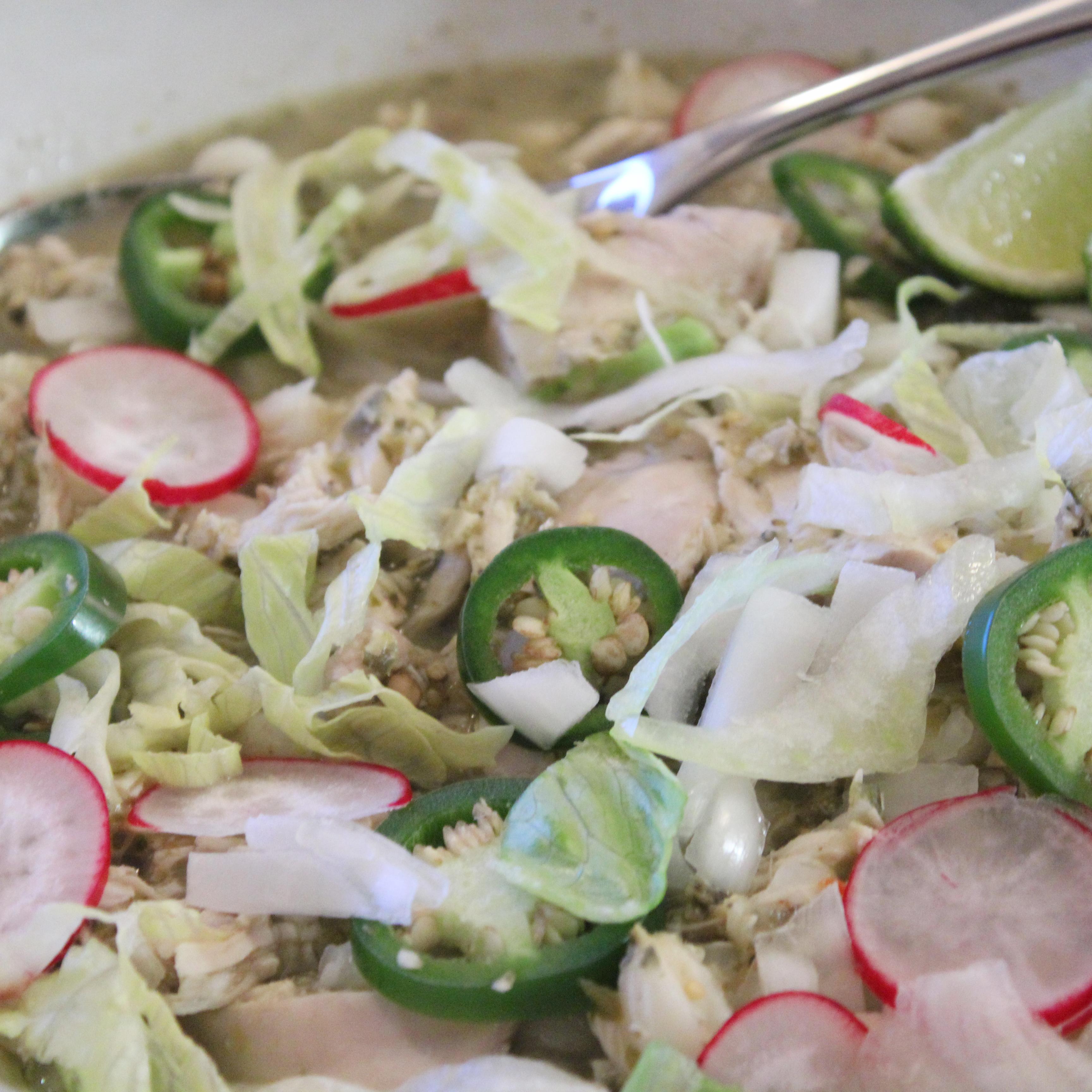 Mexico- Green Chicken Pozole- 002